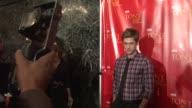 Aaron Tveit at the Harry Smith Hosts the Visa Signature Tony Awards Season Celebration at New York NY