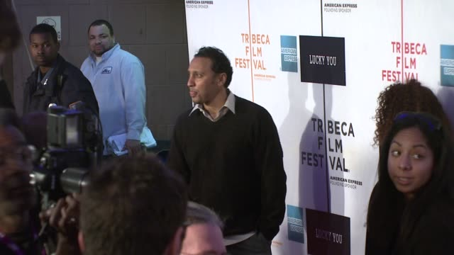Aasif Mandiv at the 'Lucky You' World Premiere at Tribeca Film Festival at BMCC TribecaPAC in New York New York on May 1 2007