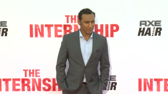 Aasif Mandvi at The Internship Los Angeles Premiere on 5/29/2013 in Westwood CA