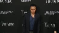 Aasif Mandvi at the 'Trumbo' Los Angeles Premiere at the Academy of Motion Picture Arts and Sciences on October 27 2015 in Beverly Hills California