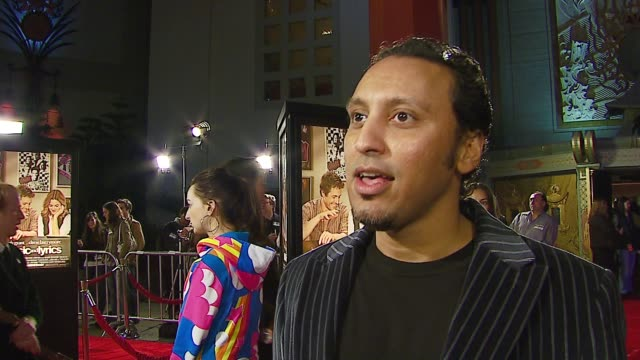 Aasif Mandvi on the film if he secretly wanted to be a rock star Valentine's plans at the 'Music and Lyrics' Premiere at Grauman's Chinese Theatre in...