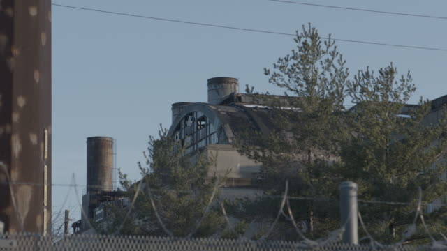 Abandoned building exteriors 4K