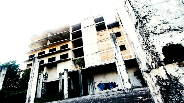 Abandoned building in Chiangmai Thailand