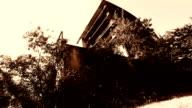 Abbandonato edificio in Chiangmai, Thailandia