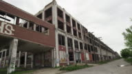 abandoned building in Detroit time lapse