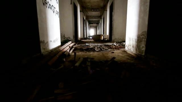Abbandonato edificio