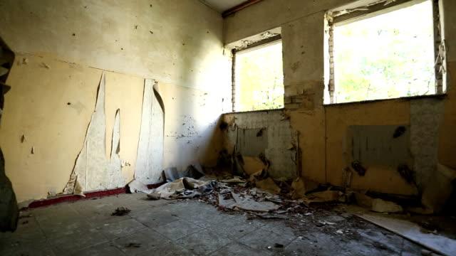 Danneggiato abbandonato edificio