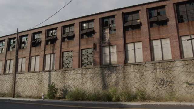 MS, PAN, Abandoned factory building, Atlanta, Georgia, USA