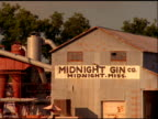 Abandoned 'Midnight Gin' factory, Mississippi