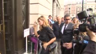 Abbey Clancy at Celebrity Sightings in London on September 13 2014 in London England