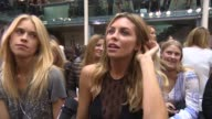 INTERVIEW Abbey Clancy on Julien becoming a friend after Strictly and how he epitomises glamorous and sexy at Julien Macdonald SS15 on September 13...