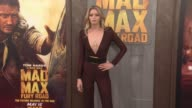Abbey Lee at the 'Mad Max Fury Road' Los Angeles Premiere at TCL Chinese Theatre on May 07 2015 in Hollywood California