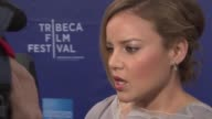 Abbie Cornish at 'The Girl' Premiere 2012 Tribeca Film Festival at SVA Theater on April 20 2012 in New York New York