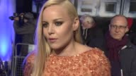 INTERVIEW Abbie Cornish on growing up with RoboCop and the relevance of the story in current times at 'RoboCop' UK film premiere at BFI IMAX on...