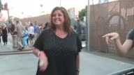 Abby Lee Miller greets fans at the Jimmy Kimmel Studio in Hollywood
