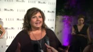 Abby Lee Miller on coming out tonight on what she's working on and on her favorite sentimental song at Elle Magazine And Sarah Hyland Hosts...