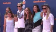 Abby Wambach Christie Rampone Ali Krieger and Ashlyn Harris at Nickelodeon Kids' Choice Sports Awards 2015 at Pauley Pavilion on July 16 2015 in Los...