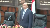 Abdrabuh Mansur Hadi vowed to press the fight against AlQaeda in Yemen as he took the oath on Saturday as the first new president in Sanaa since 1978...
