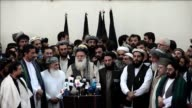 Abdul Rasul Sayyaf a former Islamist warlord who trained the mastermind behind the 9/11 attacks enters Afghanistan's presidential election race...