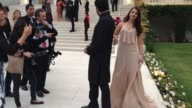 Abhishek Bachchan Aishwarya Rai at AmfAR Red Carpet at Hotel du CapEdenRoc on May 22 2014 in Cap d'Antibes France