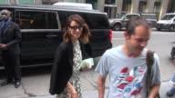 Abigail Spencer at SiriusXM Satellite Radio Celebrity Sightings in New York on July 15 2015 in New York City New York