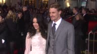 Abigail Spencer Josh Pence at Gangster Squad Los Angeles Premiereon 1/7/2013 in Hollywood CA