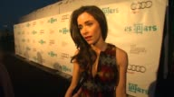 Abigail Spencer on the evening why it's important to have the arts in the public schools why the arts are meaningful to her if she's an art...