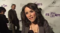 Abigail Spencer on what brings her out tonight why its important to keep arts programs in schools why the arts meaningful to her and if she is a...