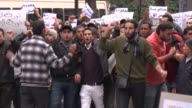 About 1000 people protested in the city centre on Thursday against Ben Ali's Constitutional Democratic Rally in a new wave of anger about the...