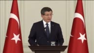 """""""About 200 Daesh militants those detected one by one including socalled regionalheads were neutralized within the last 48 hours"""" Davutoglu said..."""