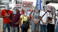 About a thousand people staged a street protest in the Philippines in the second Internetfuelled demonstration in three weeks against alleged...