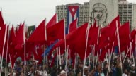 About half million people across Cuba took part in May Day celebrations dedicated to the late Venezuelan president Hugo Chavez close ally of the...