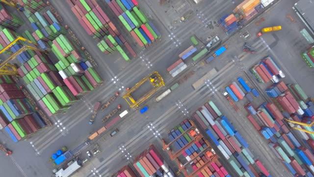 AERIAL above:cargo container
