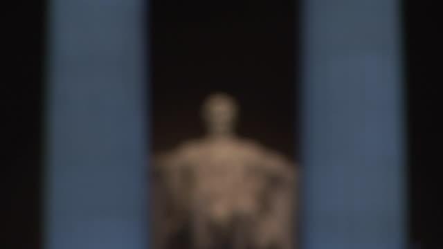 CU, FOCUSING, Abraham Lincoln, Lincoln Memorial, Washington DC, Washington, USA