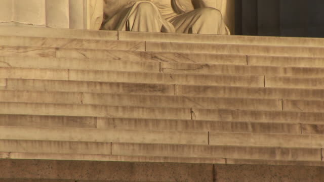MS, PAN, Abraham Lincoln statue in Lincoln Memorial, Washington DC, Washington, USA