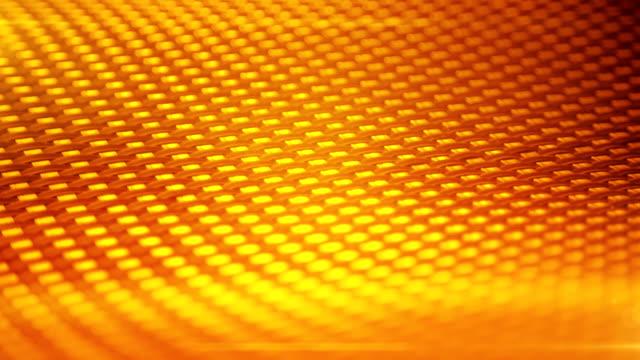 Abstract Background (orange) - Loop