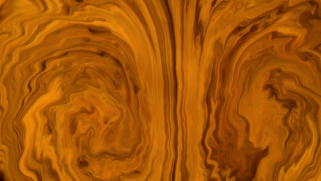 Abstract background. Mixing liquids