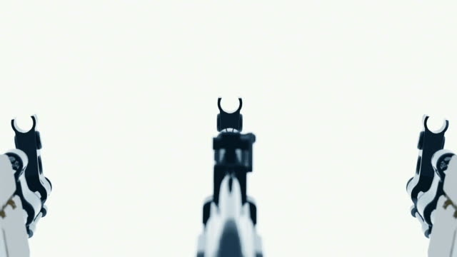 AK47   abstract blurred cyclic animation