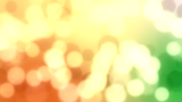 Abstrakte bokeh Hintergrund loop