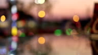 abstract bokeh light decoration