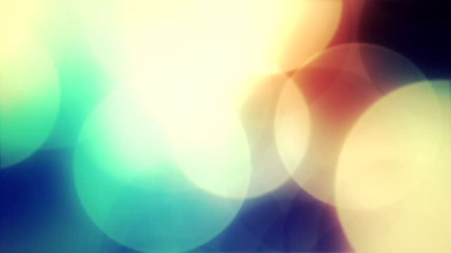 Abstract circles background animation