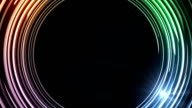 Abstract colorful rings HD