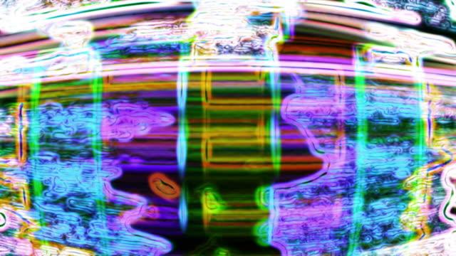 Abstract digital data forms (Loop).