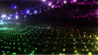 Abstrakte disco Hintergrund. Version 1