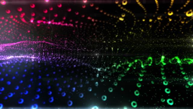 Abstrakte disco Hintergrund. Version 2