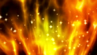 Abstract exploding fire loopable background