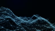 Abstract Futuristic Data Connections Background, Technology Concept