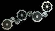 Abstract gearing wheels (HD, Loop/Cycle, Alpha)