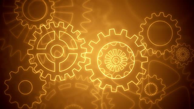 Voleste mostrarmi astratto sfondo loopable disegno marrone