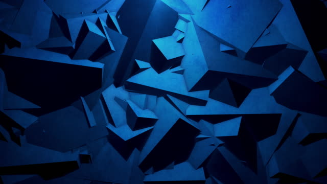 Abstract geometric background. 4k Resolution
